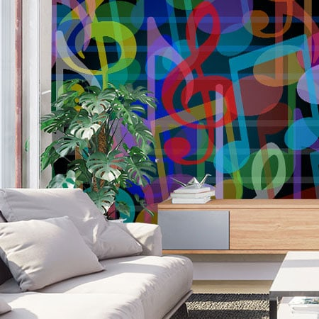 wallpaper murals made modern