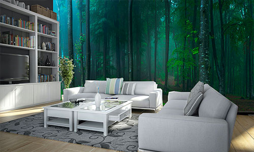 forest wallpaper mural category
