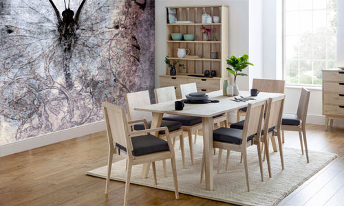 shop by room - dining room wallpaper murals