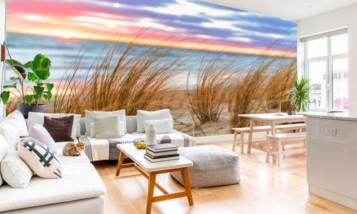 hamptons coastal style wallpaper murals - shop by style